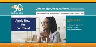Cambridge College Boston