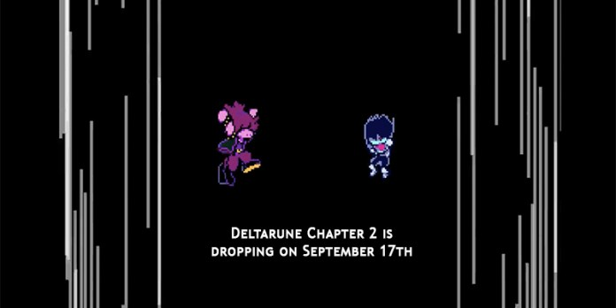 Deltarune Chapter 2 is dropping on September 17th