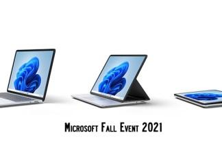 Microsoft Fall Event 2021