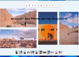 Microsoft New Photos App for Windows 11
