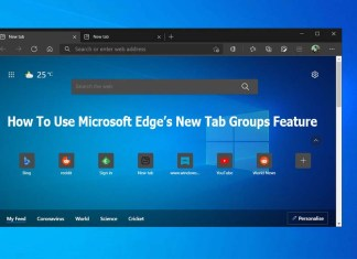 How To Use Microsoft Edge's New Tab Groups Feature