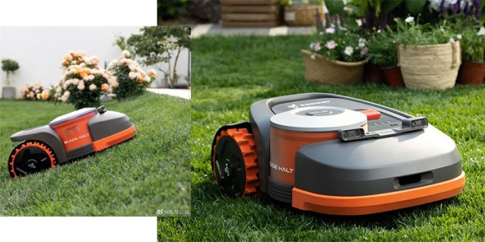 Using GPS Segway's Navimow Robot Can Mow your Lawn