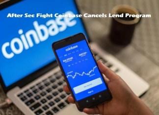 After Sec Fight Coinbase Cancels Lend Program