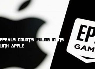 Epic Appeals Court's Ruling in Its Case with Apple