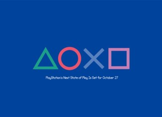 PlayStation's Next State of Play Is Set for October 27