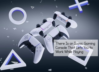 There Is an Iconic Gaming Console That Lets You to Work While Playing