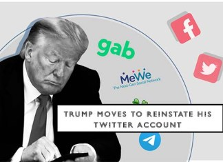 Trump Moves to Reinstate His Twitter Account