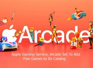 Apple Gaming Service, Arcade Set To Add Five Games to Its Catalog