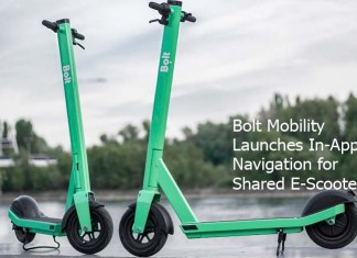 Bolt Mobility Launches In-App Navigation for Shared E-Scooters