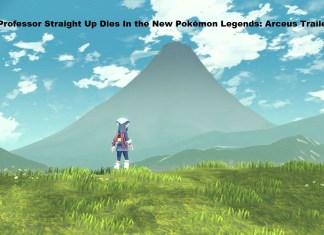A Professor Straight Up Dies In the New Pokémon Legends: Arceus Trailer
