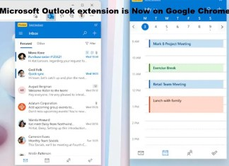 Microsoft Outlook extension is Now on Google Chrome
