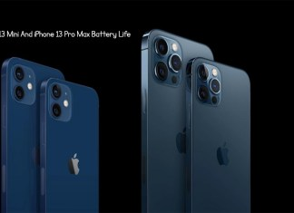 iPhone 13 Mini And iPhone 13 Pro Max Battery Life