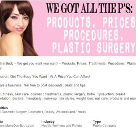New LinkedIn Company Page! #plasticsurgery #cosmetic #deals #offers #beauty