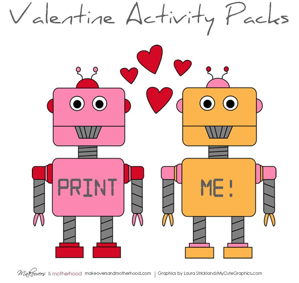 Valentine Activity Pack Printable