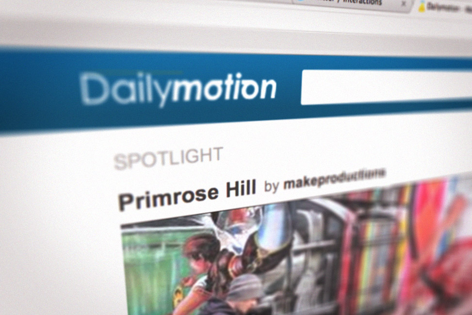 how to make a website dailymotion