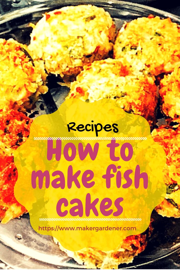 how to make fish cake