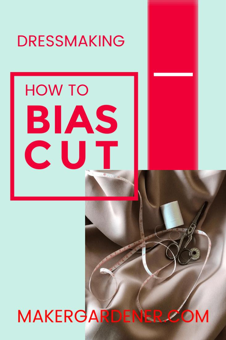 how to do bias cut