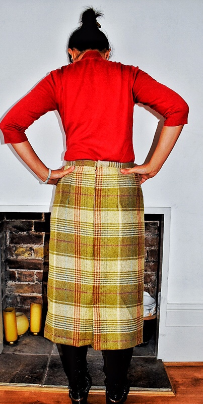 sewing with tweed fabric