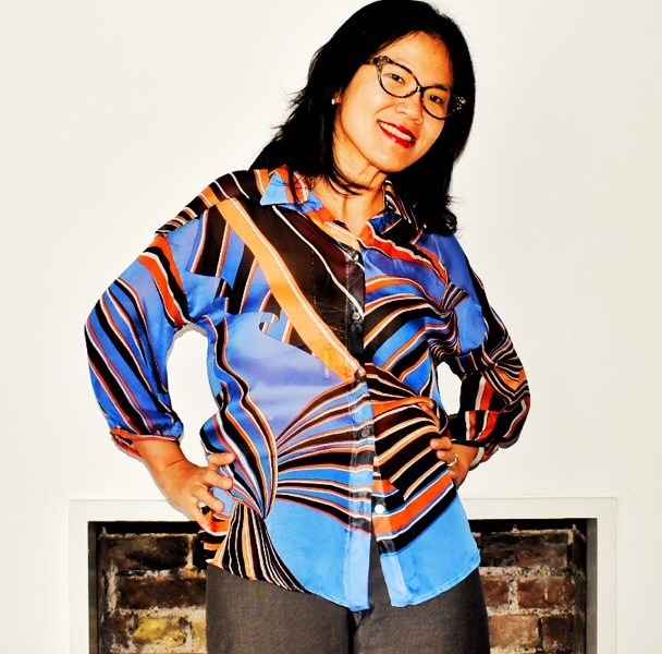 Sewing silk chiffon blouse
