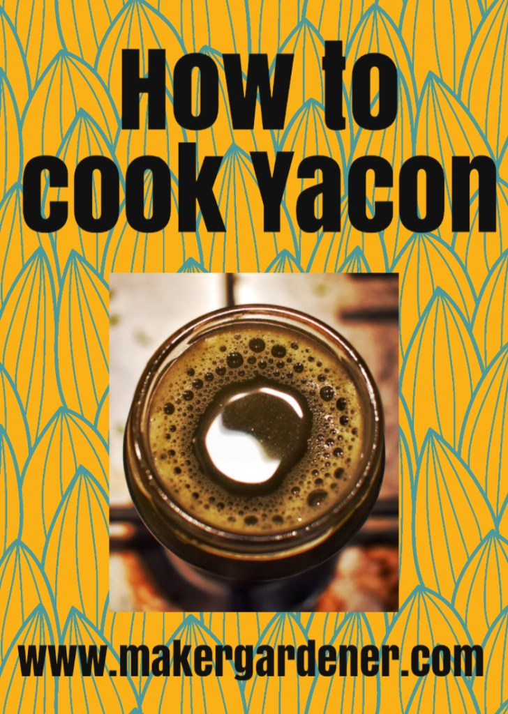 how to cook Yacon