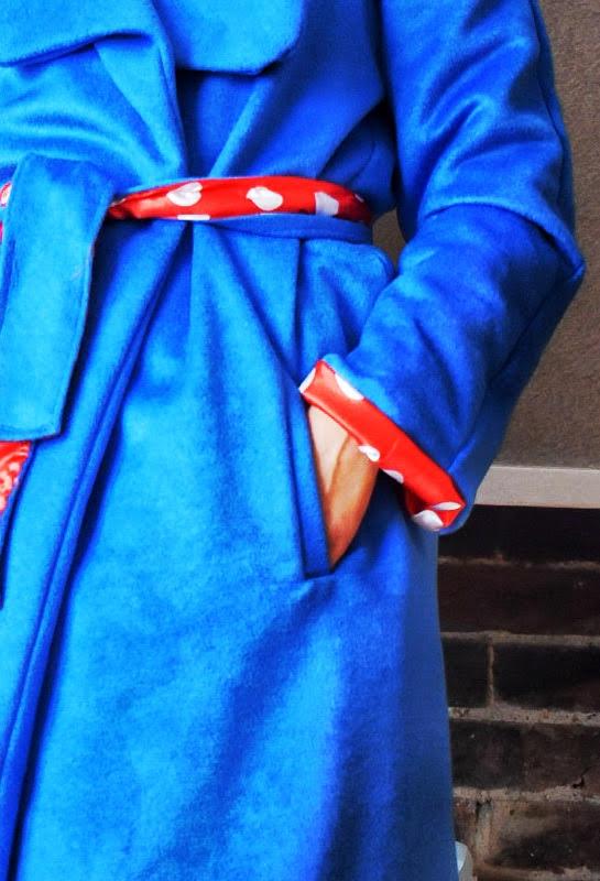 welt pocket on coat