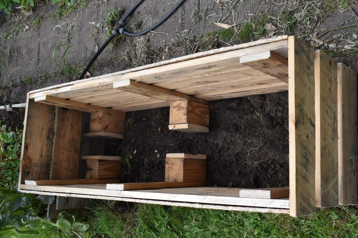pellet raised bed