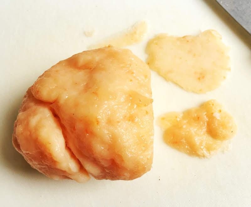 prawn cracker dough