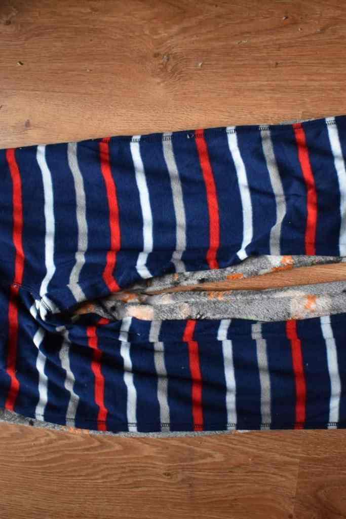 sewing pyjama bottom