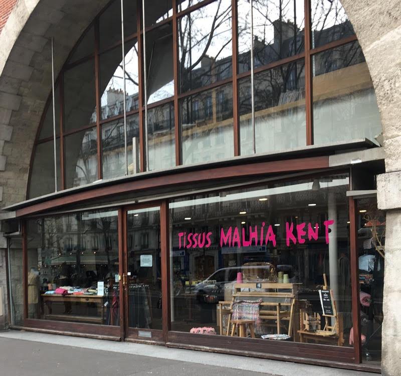fabric shops in Paris