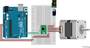 How to control a stepper motor with A4988 and Arduino (4