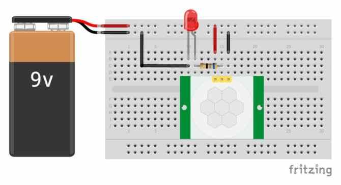 hcsr501 pir motion sensor arduino tutorial 3 examples