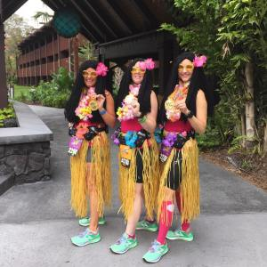 """Mahalo runDisney for a great #wdwhalf """"And a smile means friendship for every """"run"""" #runalltheraces #dvcmember #disneysmmc #CignaRunTogether #disneyside #rundisney @rundisney @runalltheraces @newbalance @nbrunning @fitbit @fitletic @garminfitness @cignatogether #wdwhalf"""