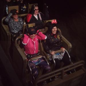 Riding a rollercoaster during a marathon Priceless PhotoPass expeditioneverest wdwmarathonhellip