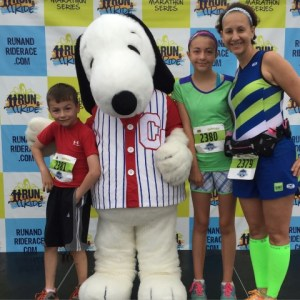 Race Report:  Run and Ride  – Cedar Point Half Marathon Weekend