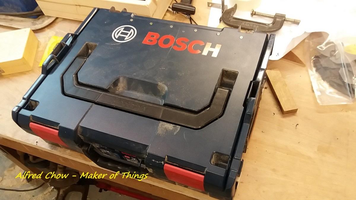 Bosch Sortimo boxes…