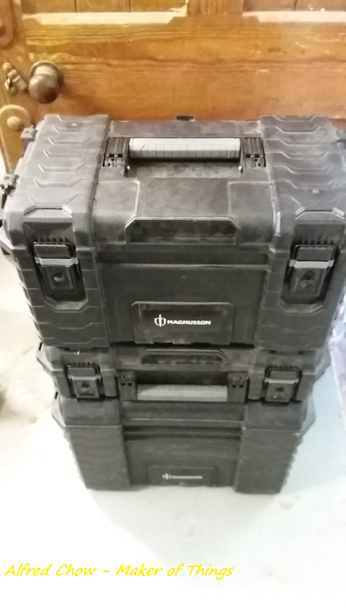 A big stacking tool box…
