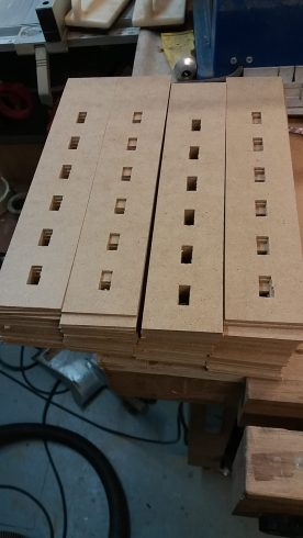 A stack of eighty mill corners