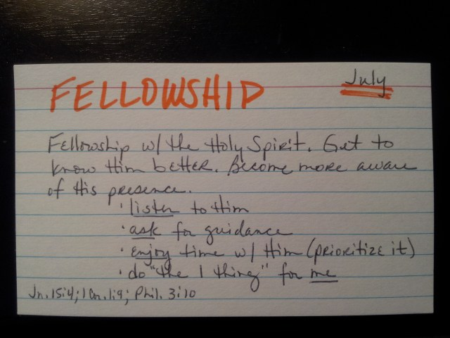 F-words Fellowship Card