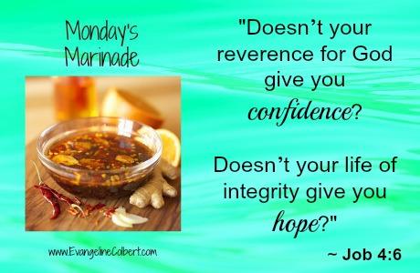 Monday's Marinade Confidence