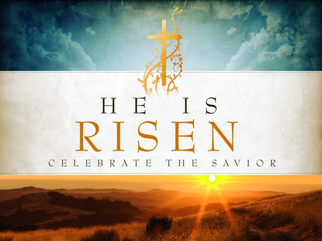 celebrate resurrection of Jesus