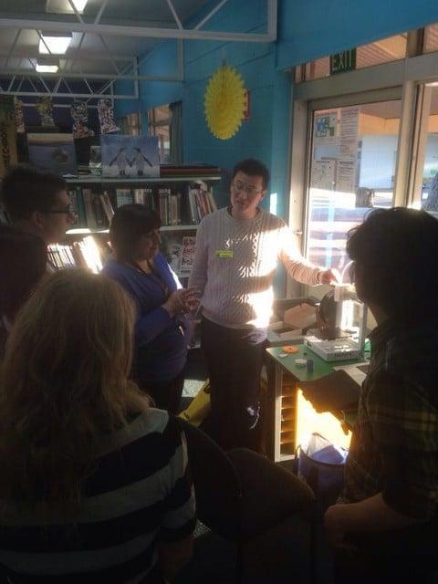 Burnside Primary Makers Empire workshop