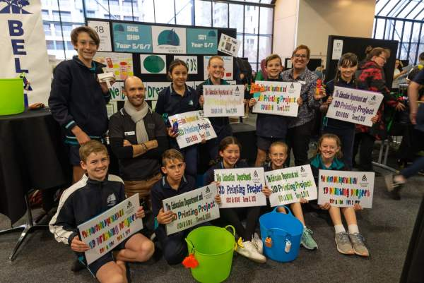 How West Lakes Shore PS Students Solve Sustainability Issues with Design Thinking