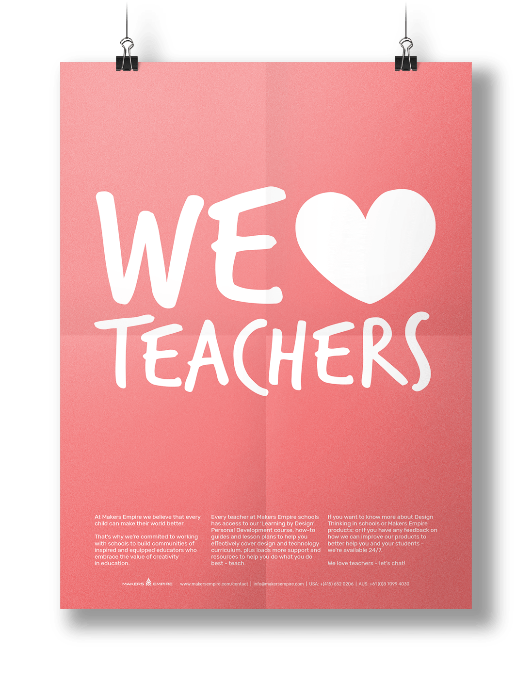 We Heart Teachers