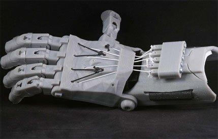 Prothèse de main imprimée en 3D