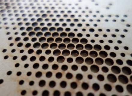 Laser Cut Surface