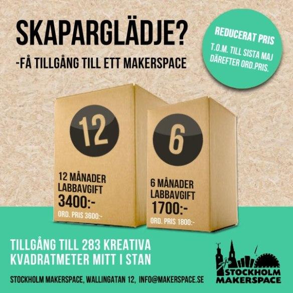 Makerspace - Nytt kampanjpris