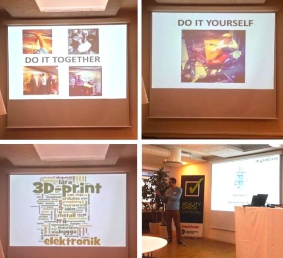 Stockholm Makrspace på RealityCheck om 3dprinting