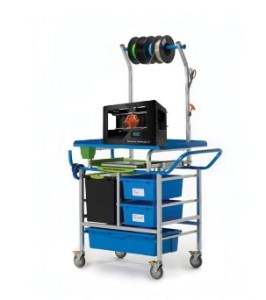mobile makerspace cart