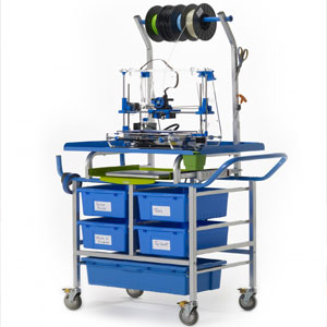 Mobile Makerspace 3d Printer Cart