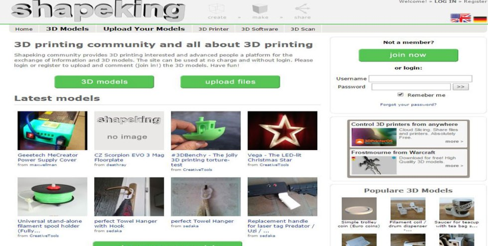 45 Websites For 3D Printable Models - Makerspaces com